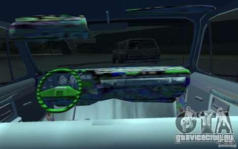 Chevrolet Silverado для GTA 4 вид сзади
