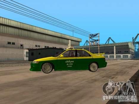 Toyota Camry Thailand Taxi для GTA San Andreas вид слева