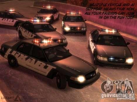 EMERGENCY LIGHTING SYSTEM V6 для GTA 4 шестой скриншот