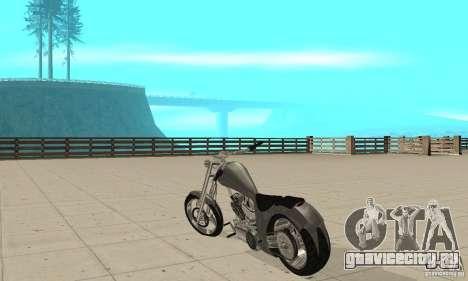GTAIV Hellfury для GTA San Andreas вид сзади слева