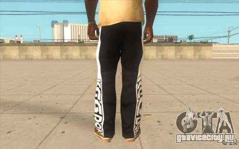 Reebok Sporthose для GTA San Andreas третий скриншот