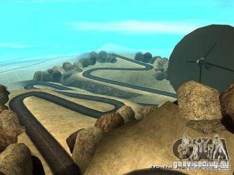 Downhill Drift для GTA San Andreas третий скриншот
