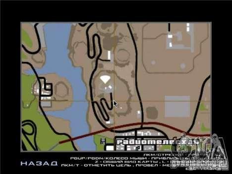 New Drift Zone для GTA San Andreas одинадцатый скриншот