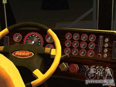 Peterbilt 379 Wrecker для GTA San Andreas вид справа