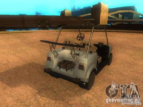 CADDY v1.0 рестайлинг для GTA San Andreas вид слева