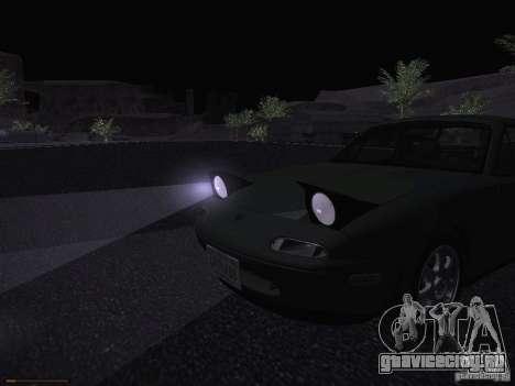 Mazda MX-5 1997 для GTA San Andreas вид сверху