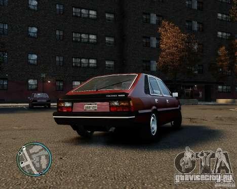 FSO Polonez 1500 Borewicz для GTA 4 вид сзади