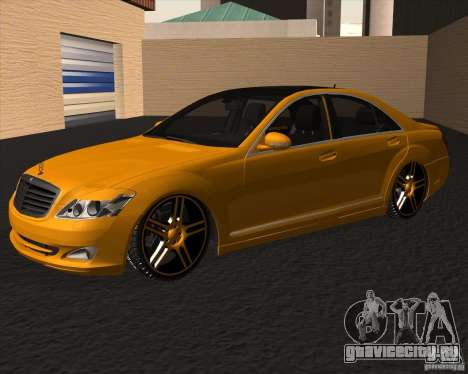 Mercedes Benz S600 Panorama by ALM6RFY для GTA San Andreas