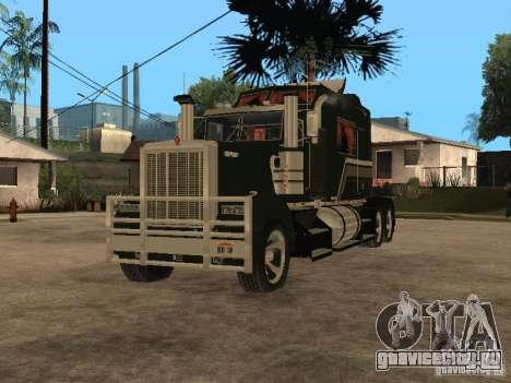 Custom Kenworth w900 - Custom - Trailer для GTA San Andreas вид слева
