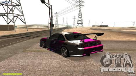 Nissan Silvia S14 kuoki RDS для GTA San Andreas вид сзади слева
