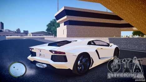 Lamborghini Aventador LP 700-4 для GTA 4 вид сзади слева