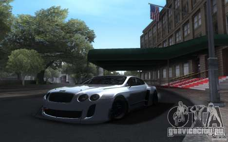 Bentley Continental Super Sport Tuning для GTA San Andreas