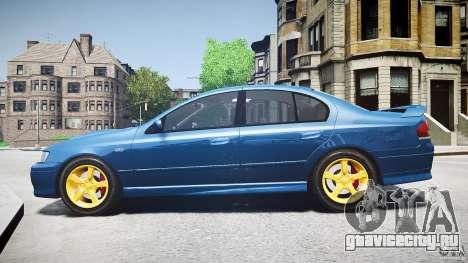 Ford Falcon XR8 2007 Rim 2 для GTA 4 вид слева