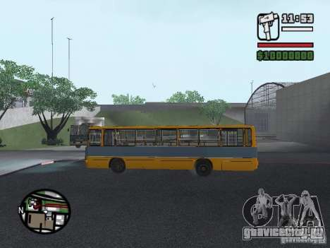 Ikarus 263 для GTA San Andreas вид сбоку