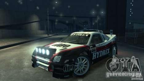 Ford RS200 Evolution Rallycross для GTA 4 вид справа