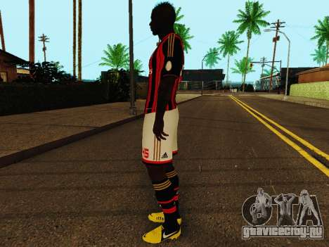 Марио Балотелли v1 для GTA San Andreas третий скриншот