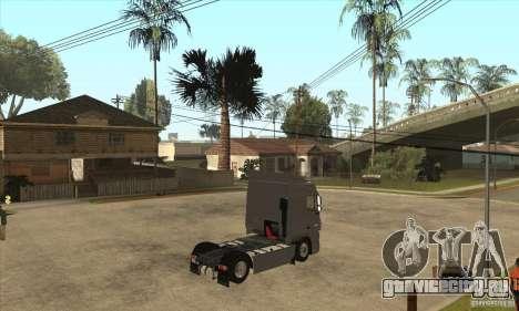 DAF XF для GTA San Andreas вид сзади