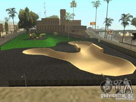 Новый велопарк в LS для GTA San Andreas второй скриншот