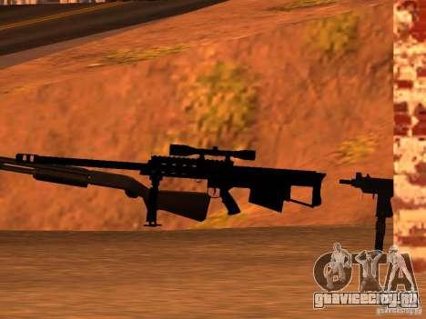 M95 Barrett Sniper для GTA San Andreas третий скриншот