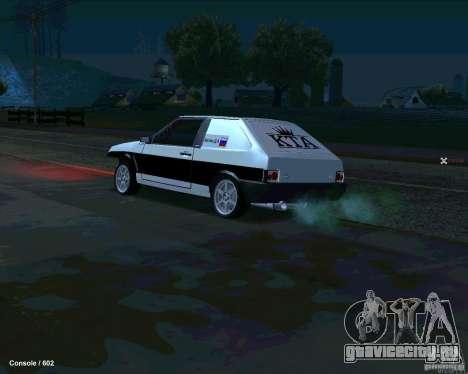 ВАЗ 2108 Драговая для GTA San Andreas вид слева