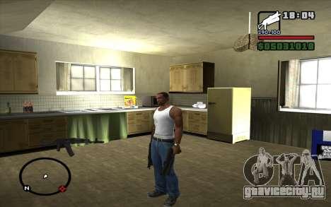 ПП-19 Бизон для GTA San Andreas второй скриншот