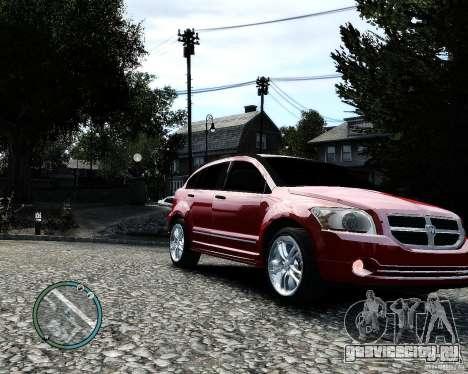 Dodge Caliber для GTA 4 вид сбоку
