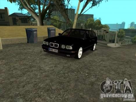 BMW E34 535i Touring для GTA San Andreas вид сзади слева