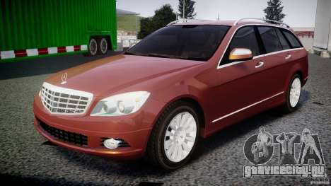 Mercedes-Benz C 280 T-Modell/Estate для GTA 4