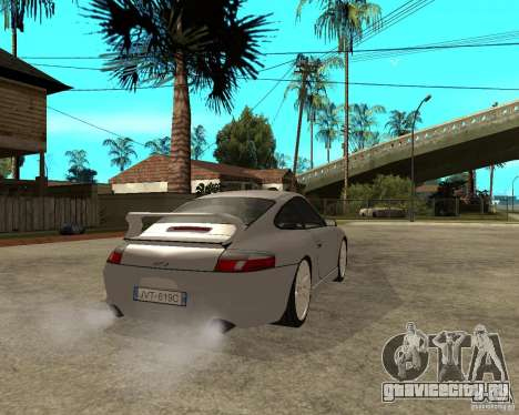 Porsche GT3 для GTA San Andreas вид сзади слева