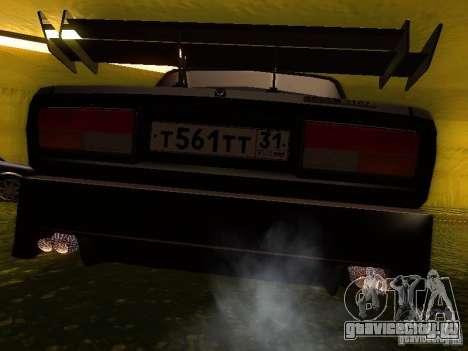 ВАЗ 2107 X-Style для GTA San Andreas вид сзади слева