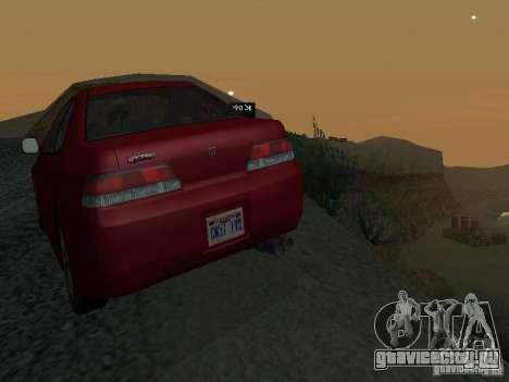 Honda Prelude Sport для GTA San Andreas вид сверху