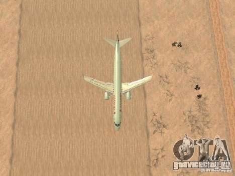 Embraer ERJ 190 Air Canada для GTA San Andreas вид сбоку
