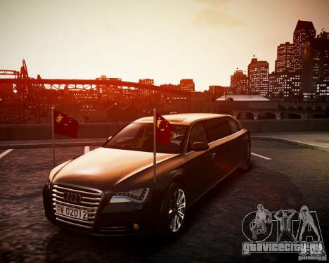 Audi A8 Limo для GTA 4