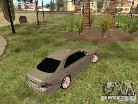 Mercedes-Benz S600 w200 для GTA San Andreas вид справа