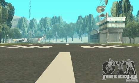 Обновлённый заброшенный аэропорт в пустыне для GTA San Andreas