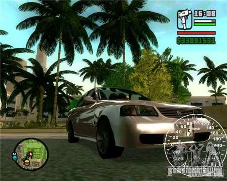 Nissan Sunny для GTA San Andreas вид сзади слева
