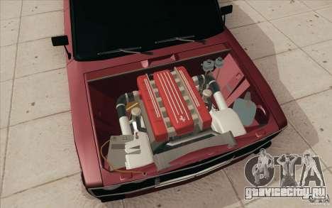 ВАЗ-2106 Lada для GTA San Andreas вид снизу