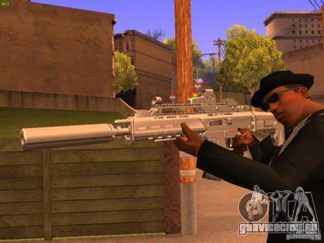TeK Weapon Pack для GTA San Andreas седьмой скриншот