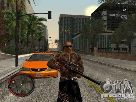 GTA IV HUD v1 by shama123 для GTA San Andreas