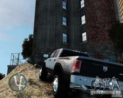 Dodge Ram 3500 Stock для GTA 4 вид справа