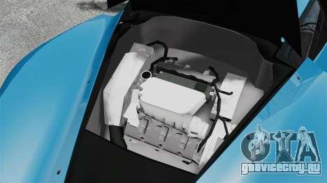 Marussia B2 для GTA 4 вид изнутри