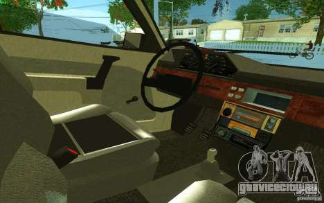 АЗЛК 2141 v2.0 для GTA San Andreas вид сзади слева