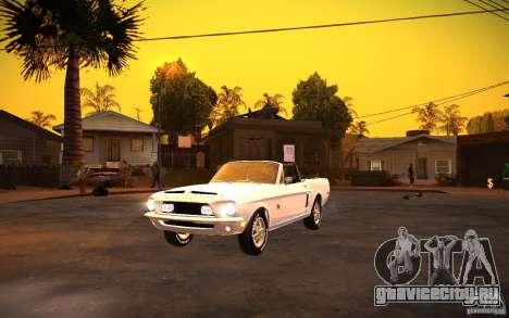 ENBSeries v1.0 By ГАЗелист для GTA San Andreas второй скриншот