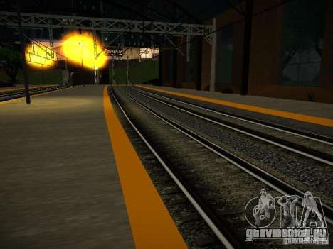 Новые рельсы для GTA San Andreas