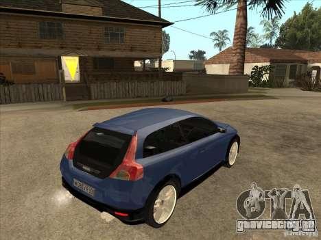 VOLVO C30 Sport 2009 для GTA San Andreas вид справа
