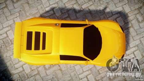 Watson R-Turbo Roadster для GTA 4 вид справа