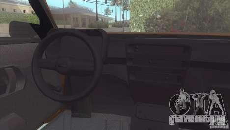 Fiat Cinquecento для GTA San Andreas вид справа