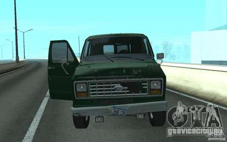 Ford E-150 Short Version v2 для GTA San Andreas вид сзади слева