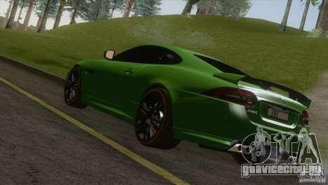 Jaguar XKR-S 2011 V1.0 для GTA San Andreas вид слева