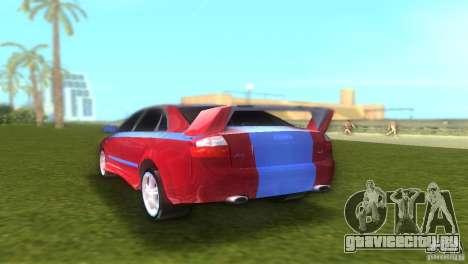 Audi A4 STREET RACING EDITION для GTA Vice City вид справа